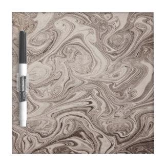 Gray swirls dry erase whiteboards