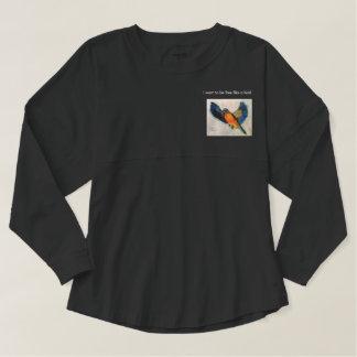 Gray T-Shirt Free as a Bird