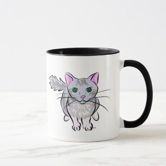 Gray Tabby Mug