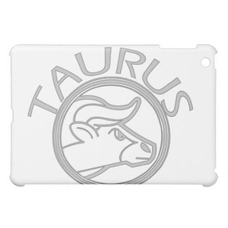 Gray Taurus Horoscope Sign  Case For The iPad Mini