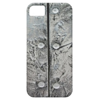 Gray Textured Steel Pattern iPhone 5 Case