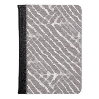 Gray Tiger Stripes Canvas Look
