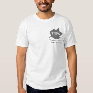 Gray TNPS Poplar Leaf Logo Tshirt