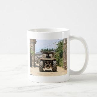 Gray Tractor on El Camino, Spain Coffee Mug