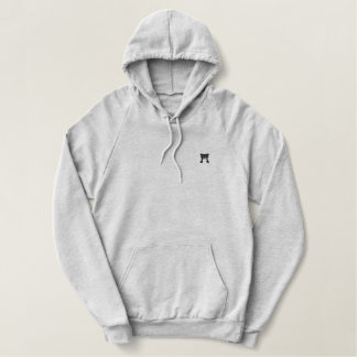 Gray traditional Hoodie