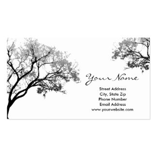Gray Trees Business Cards
