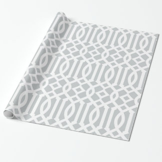 Gray Trellis | Gift Wrap