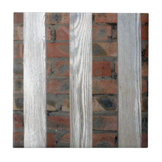 Gray unpainted wooden planks with natural texture ceramic tile