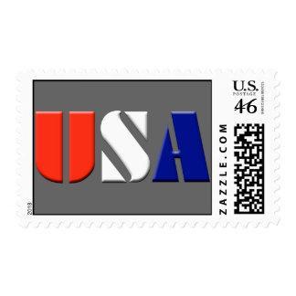 Gray USA Postage Stamps
