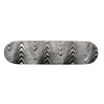 Gray Waves Skateboard