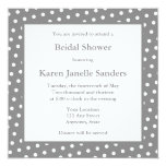 Gray Wedding Shower Invitations or Announcements