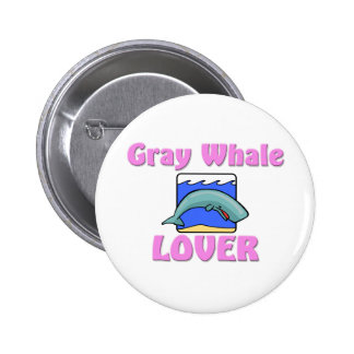 Gray Whale Lover Pin
