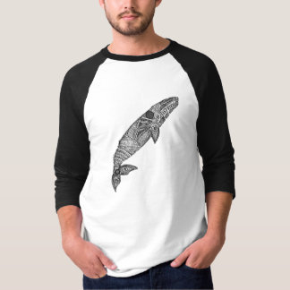 Gray Whale Sketch Shirt