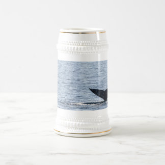 Gray Whale Tail Beer Stein