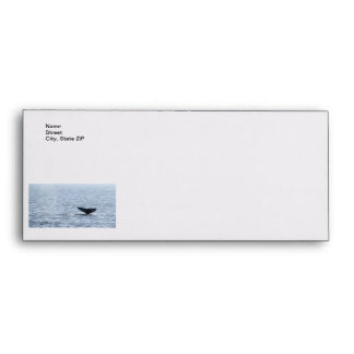 Gray Whale Tail Envelope
