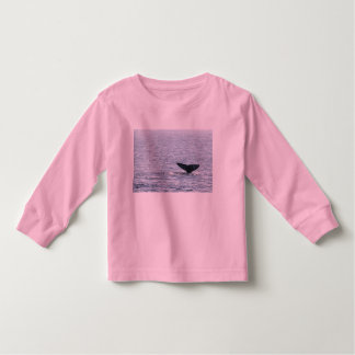 Gray Whale Tail Toddler T-shirt