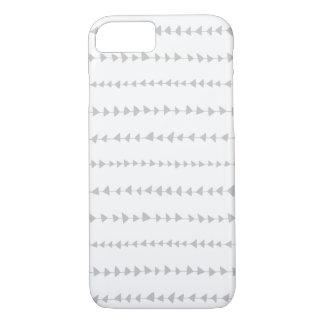 Gray White Aztec Arrows Pattern iPhone 8/7 Case