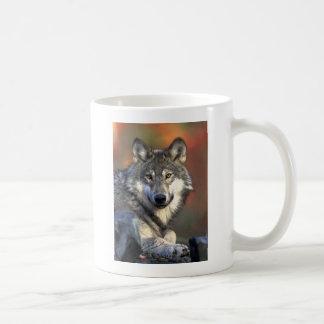 Gray Wolf Art Coffee Mug