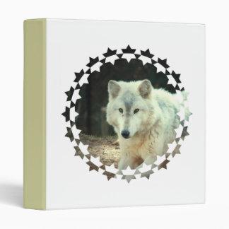 Gray Wolf Binder