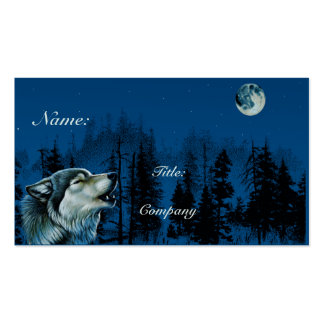 Gray Wolf Business Card