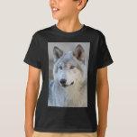 Gray Wolf Closeup T-Shirt