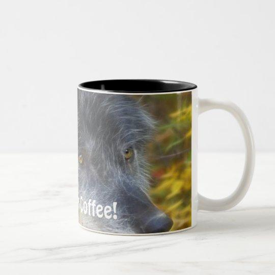 GRAY WOLF Coffee Lover's Gift Mug
