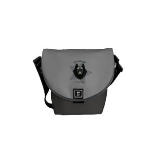 'Gray Wolf' Courier Bag