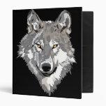 Gray Wolf Design Binder