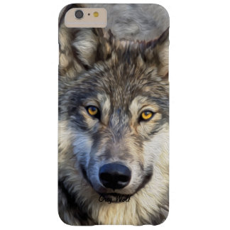 Gray Wolf Dignity Barely There iPhone 6 Plus Case