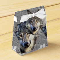 Gray Wolf Dignity Favor Box