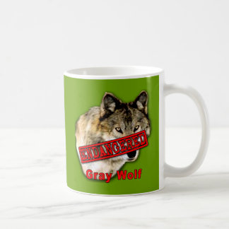 Gray Wolf Endangered Species Products Mug