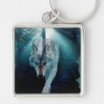 Gray Wolf & Forest Wildlife Series Key Chains