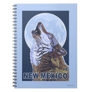 Gray Wolf HowlingNew Mexico Notebooks