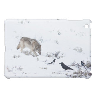 Gray Wolf Cover For The iPad Mini