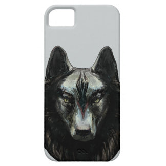 'Gray Wolf' iPhone SE/5/5s Case