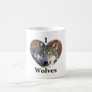 Gray Wolf Coffee Mug