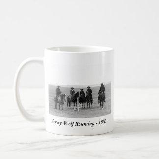 Gray Wolf Roundup, 1887 Coffee Mug