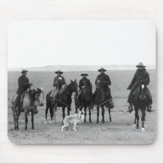 Gray Wolf Roundup, 1887 Mouse Pad