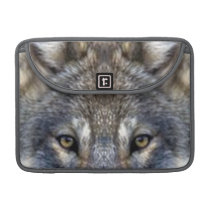 Gray Wolf Sleeve For MacBook Pro