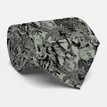 Gray Wood Badge Critter Tie