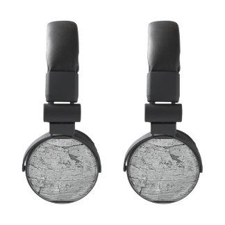 Gray Wood Headphones
