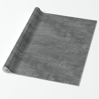 gray wood pattern wrapping paper