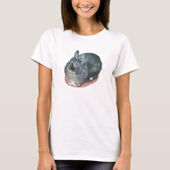 Gray Wooly Rabbit T-Shirt