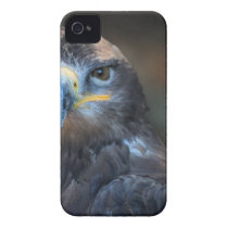 Gray Yellow and White Eagle iPhone 4 Cover