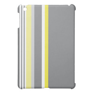 Gray (Yellow strip) Cover For The iPad Mini