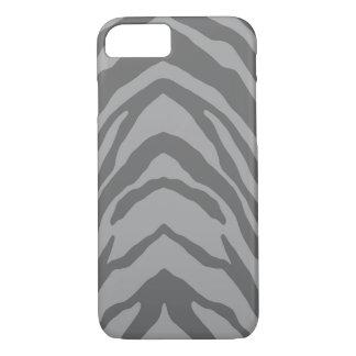 Gray Zebra iPhone 7 Case