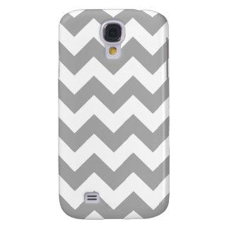 Gray Zigzag Pattern Samsung Galaxy S4 Case