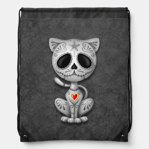 Gray Zombie Sugar Kitten Cat Backpacks