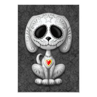 Gray Zombie Sugar Puppy Dog Announcements