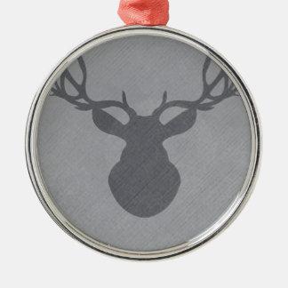 graydeer.png metal ornament